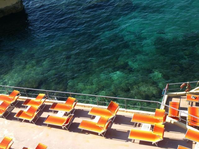 Marseille, sur la corniche