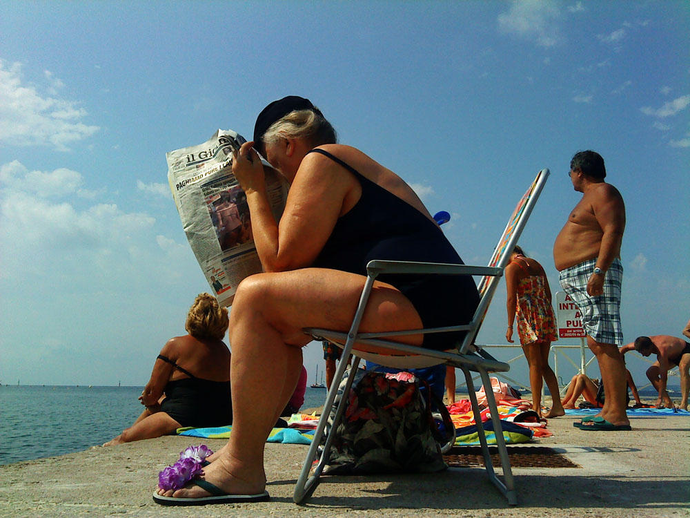 Juan Les Pins, la plage - 2011