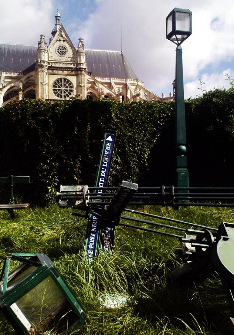 Paris, les halles