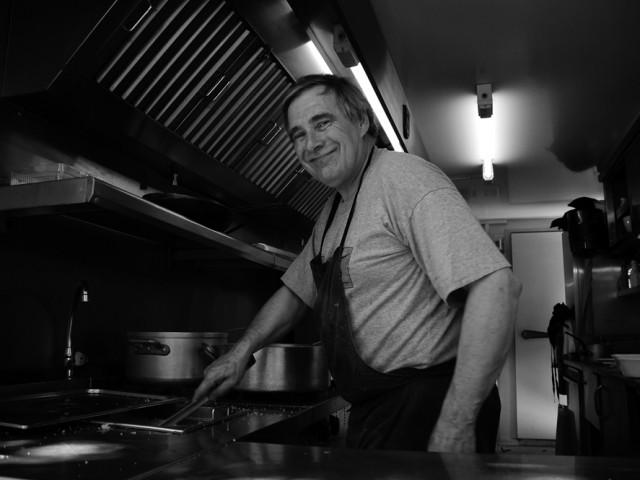 Gilles, chef cuisinier