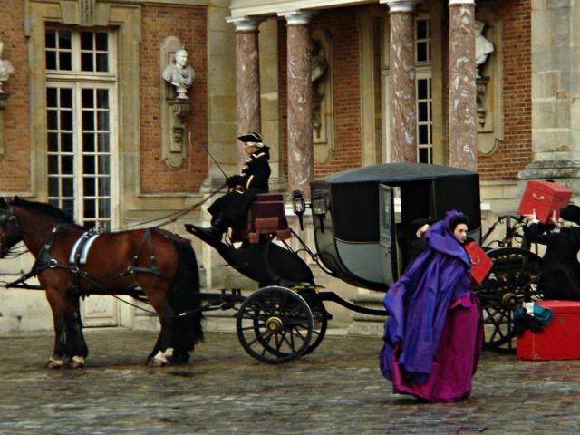 La comtesse du Barry quitte Versailles
