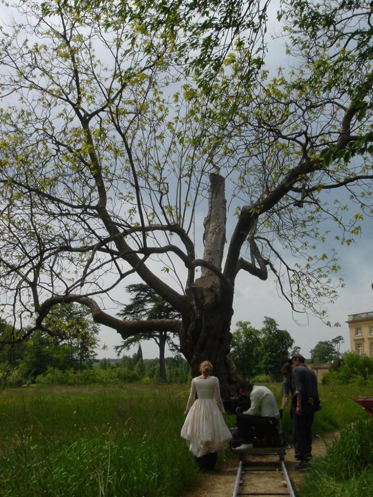 dans les jardins du petit Trianon
