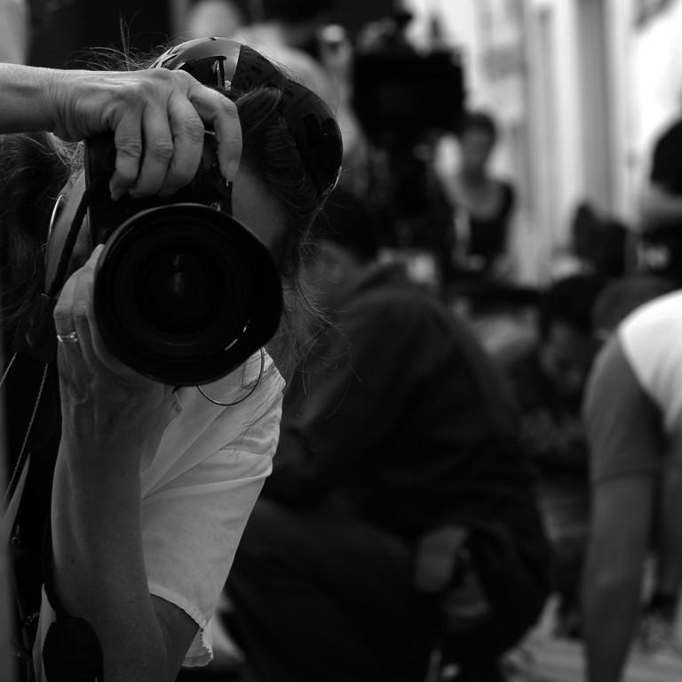 Moune, photographe de plateau