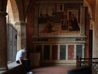 San Gimignano, gardien d'abbaye