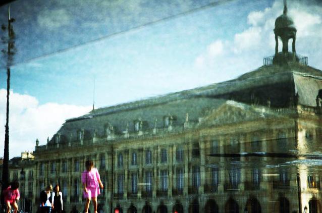 Bordeaux, place des reflets, 2010