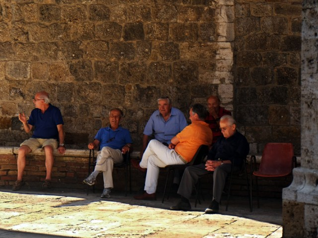 Les vieilles pierres, San Gimignano