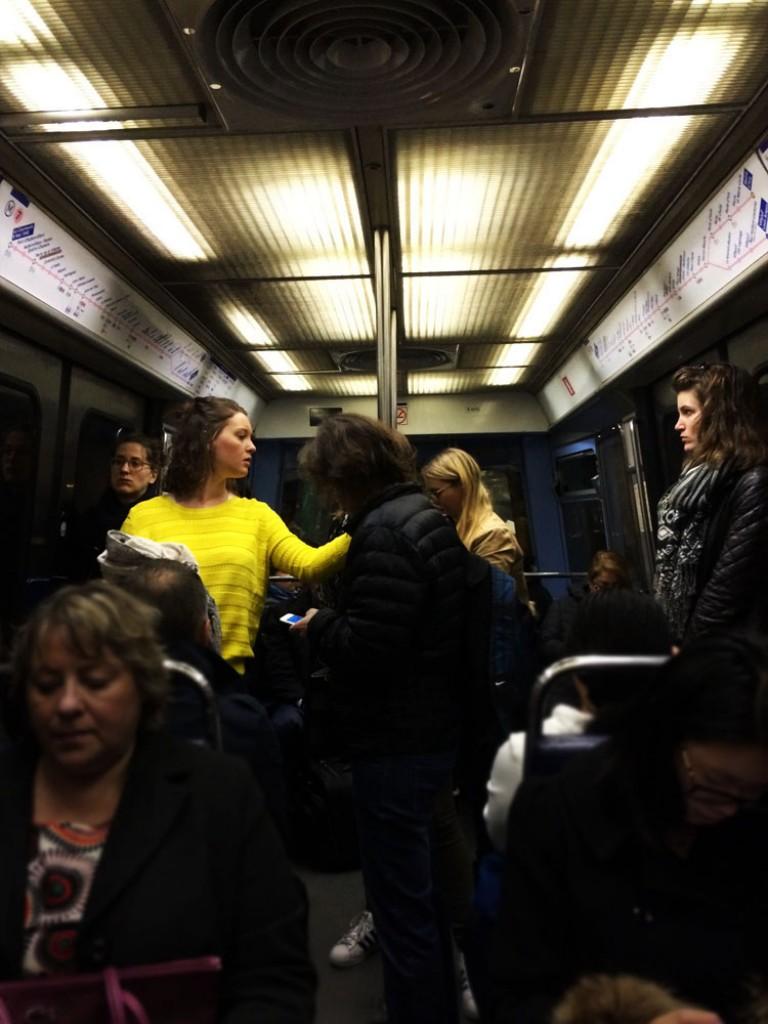 Le soleil du métro