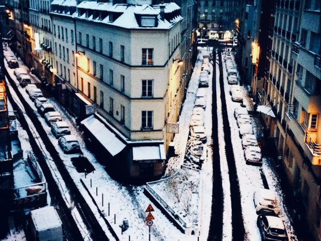 Un matin d'hiver à Paris